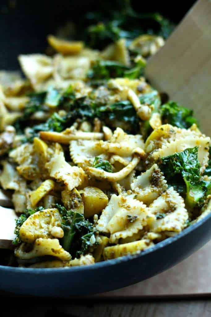Pesto Pasta Salad - The Seaside Baker