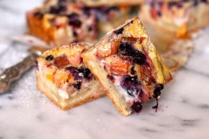 Fruit Custard Bars