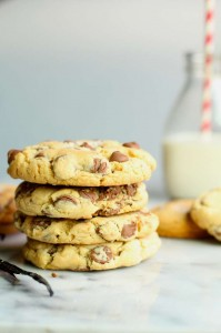 Soft Chocolate Chip Cookies with Sea Salt