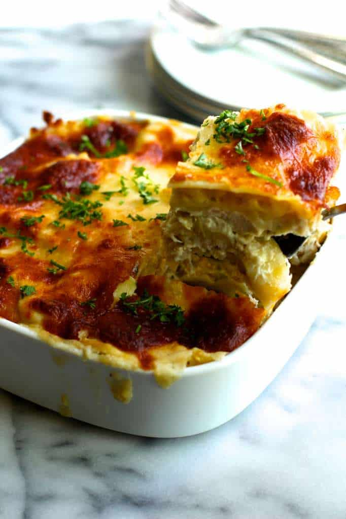 Light Chicken Lasagna with La Terra Fina - The Seaside Baker