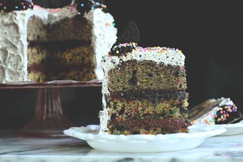 Oreo Funfetti Birthday Cake