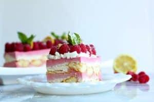 Raspberry Lemoncello Tiramisu