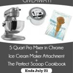 Summer KitchenAid Mixer Giveaway