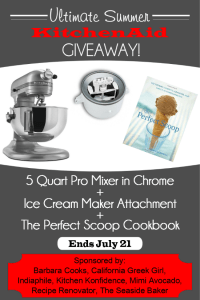 Summer KitchenAid Mixer Giveaway