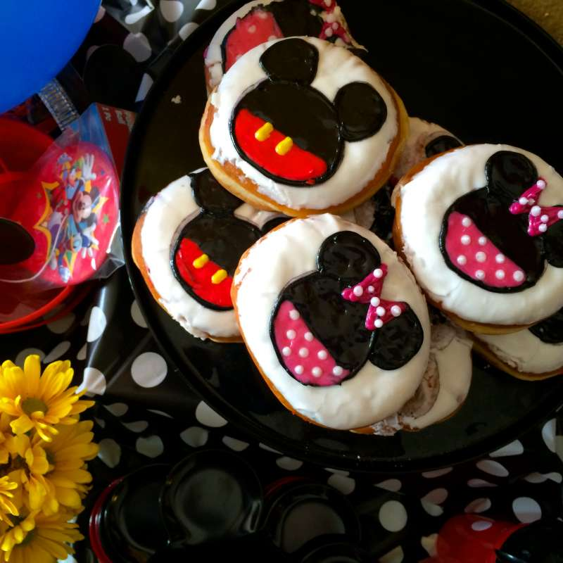 Mickey Mouse Party The Seaside Baker