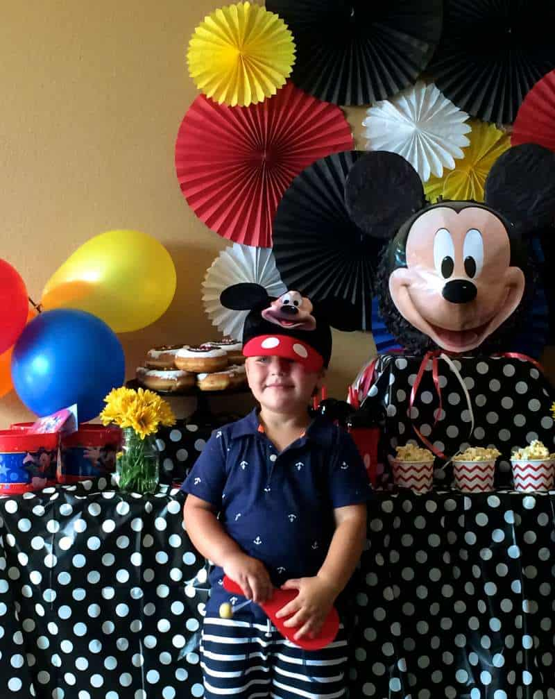 Baby Ben and his Mickey Party