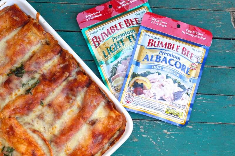 Tuna Enchiladas #BumbleBeeB2S