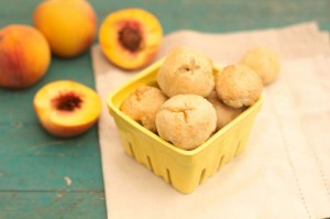 Peach Pie Bites