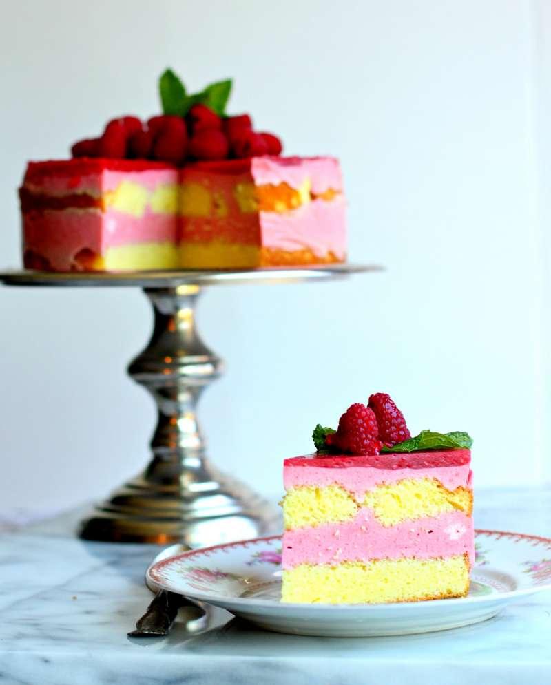 raspberry lemon cake 5
