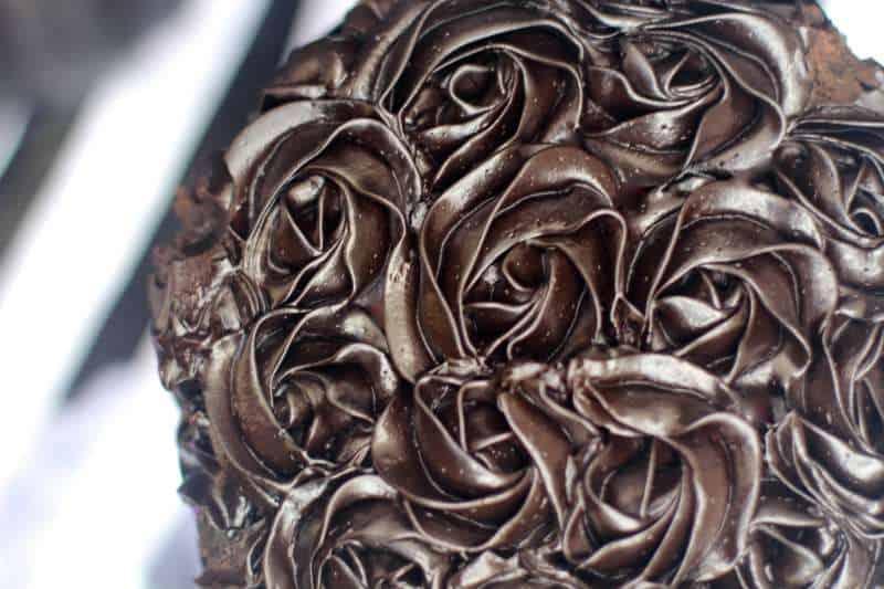 black rosettes
