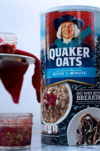 Mini Cranberry Crumbles #QuakerUp #MyOatsCreation #CollectiveBias