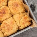 Sweet Potato and Pecan Dinner Rolls
