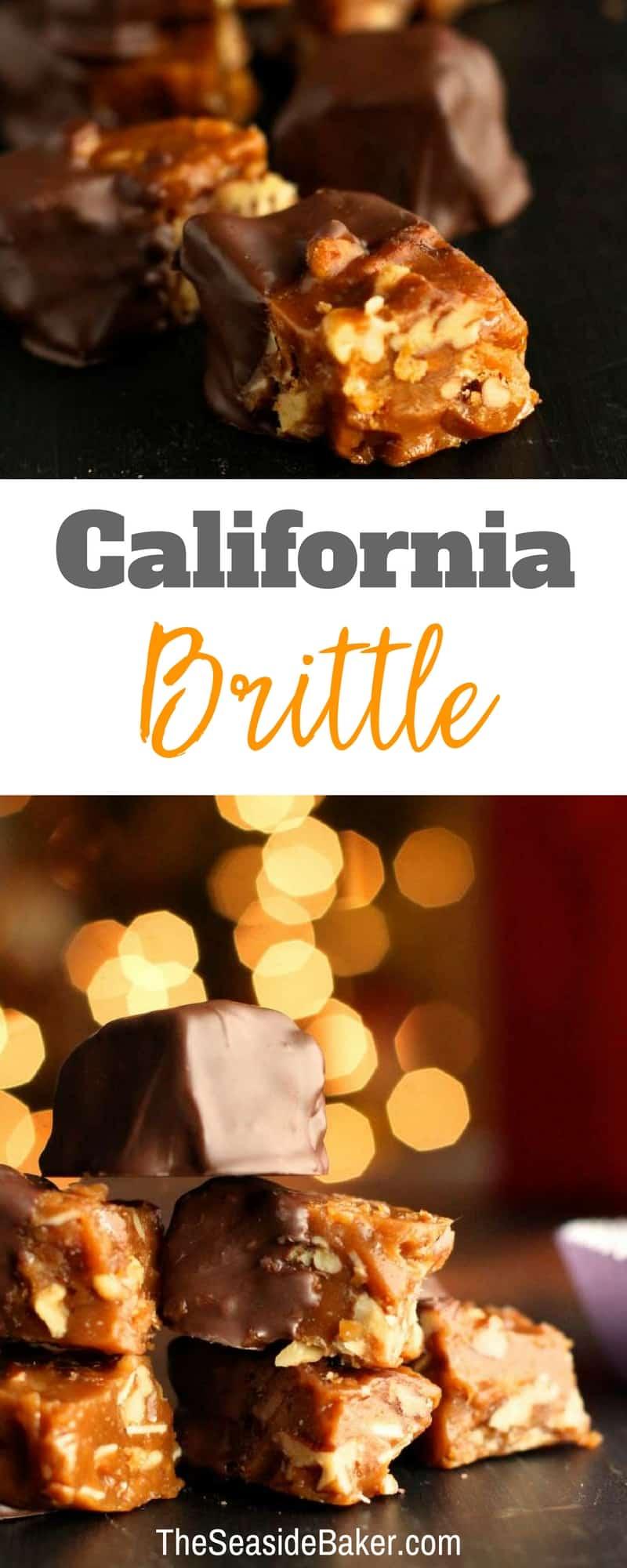 Homemade California Brittle