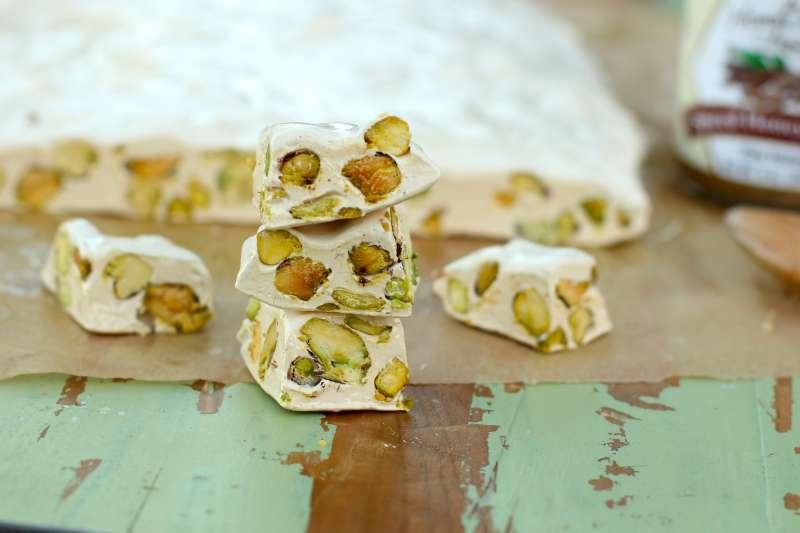pistachio nougat