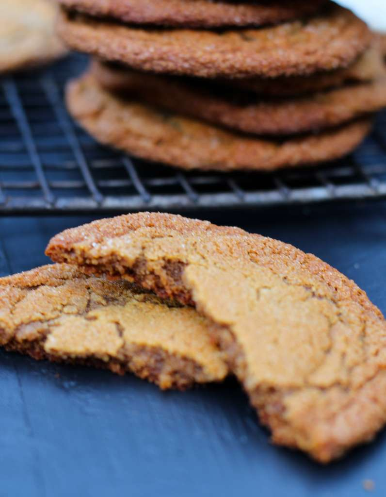 gluten free molasses cookie