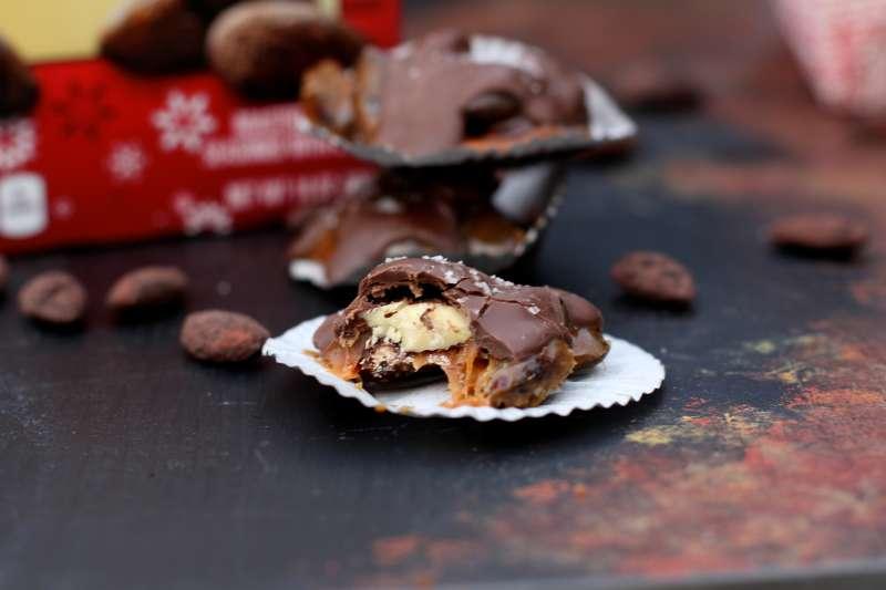 Chocolate Almond Turtles