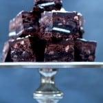 Chocolate Peppermint Brookies