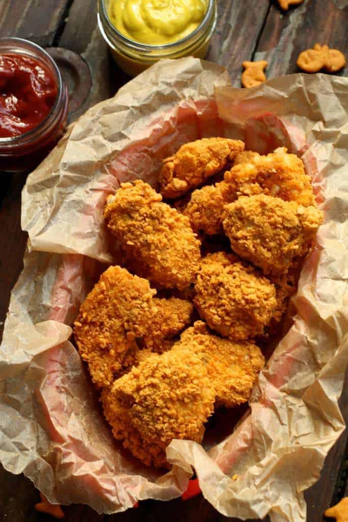 final chicken nugget