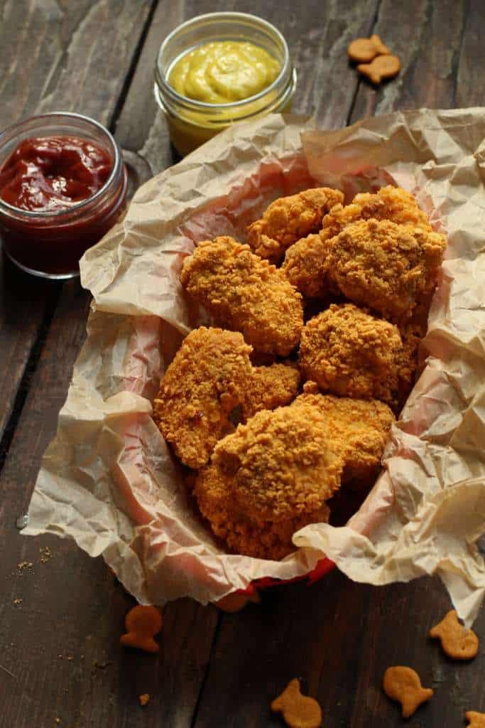goldfish chicken nugget