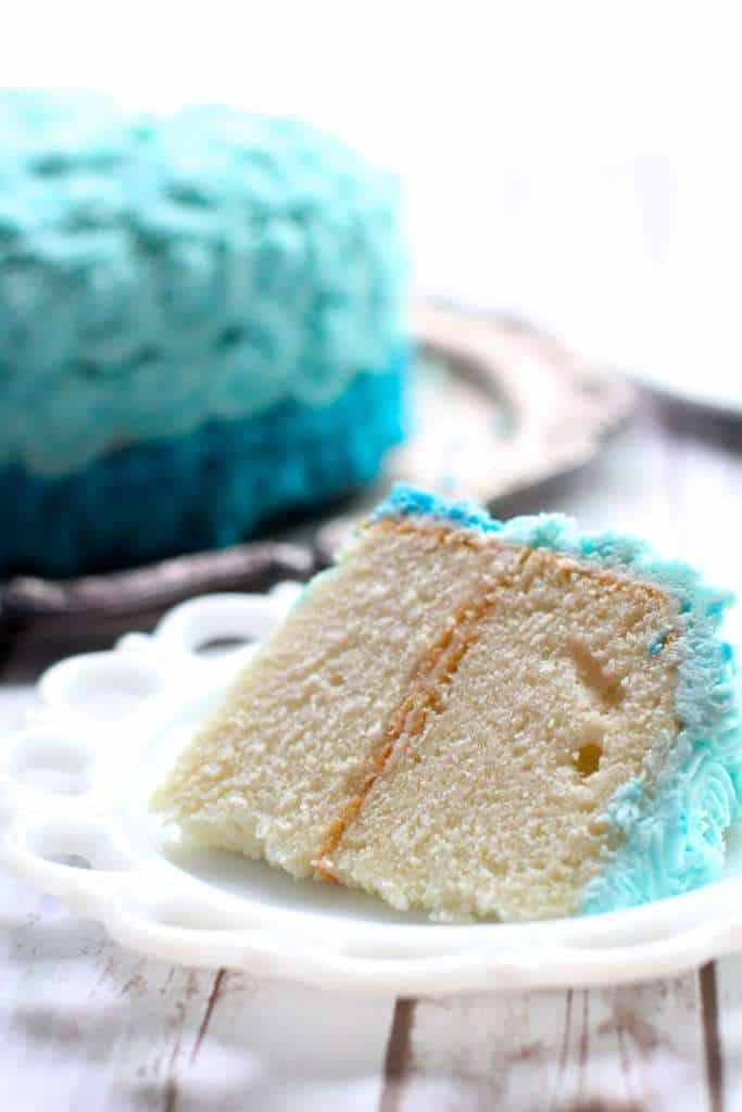 Perfect White Cake The Seaside Baker