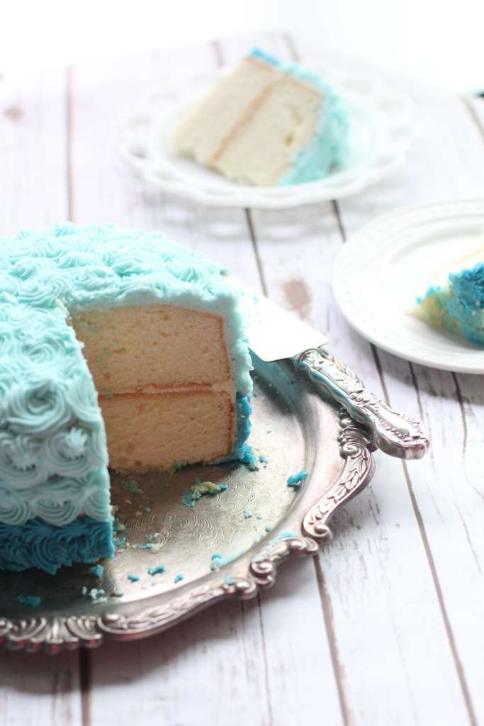 perfect white cake