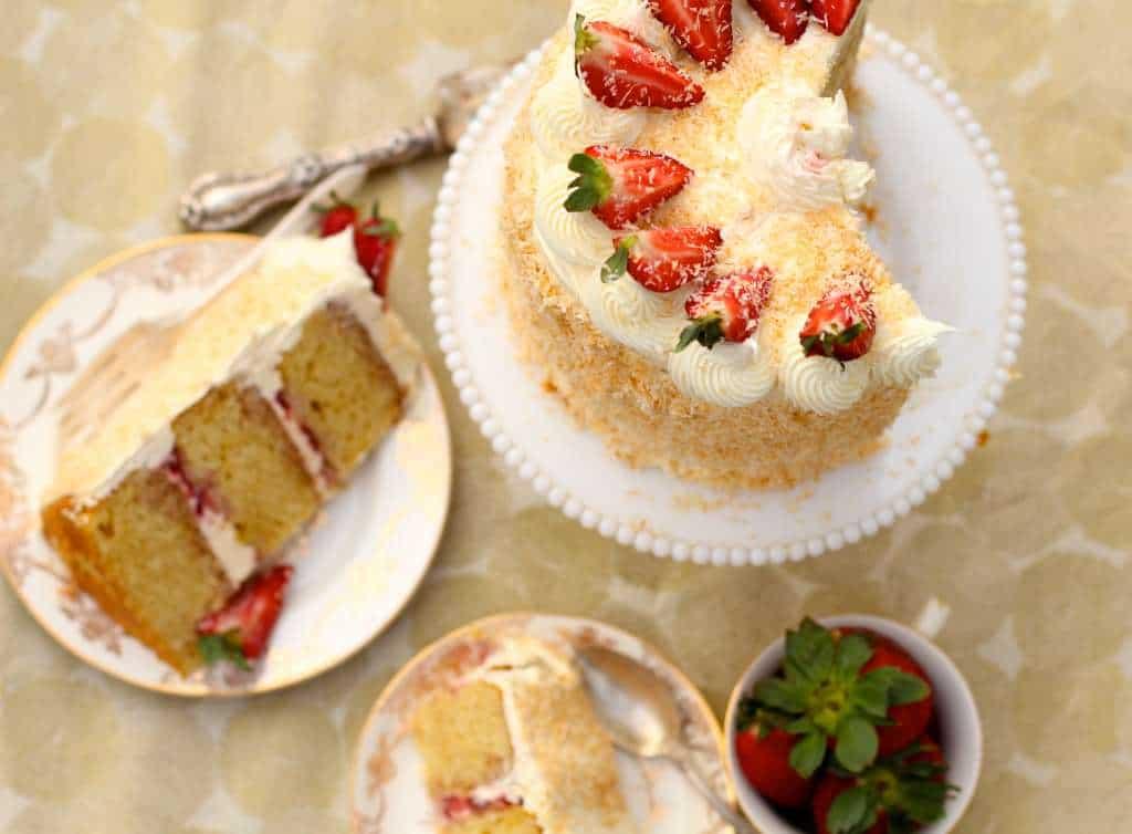 cut cake slices