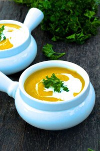 Healthy Creamy Vegetable Soup