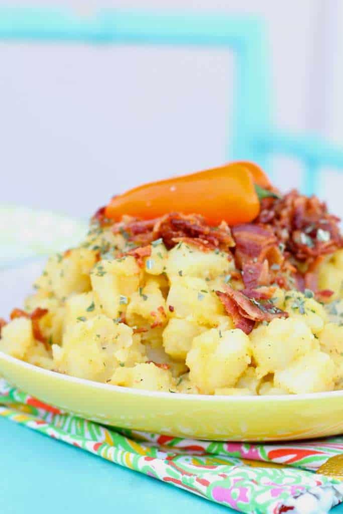 bacon german potato salad