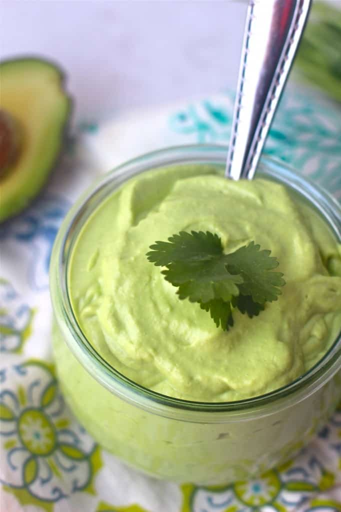 Creamy Avocado Cilantro Dressing