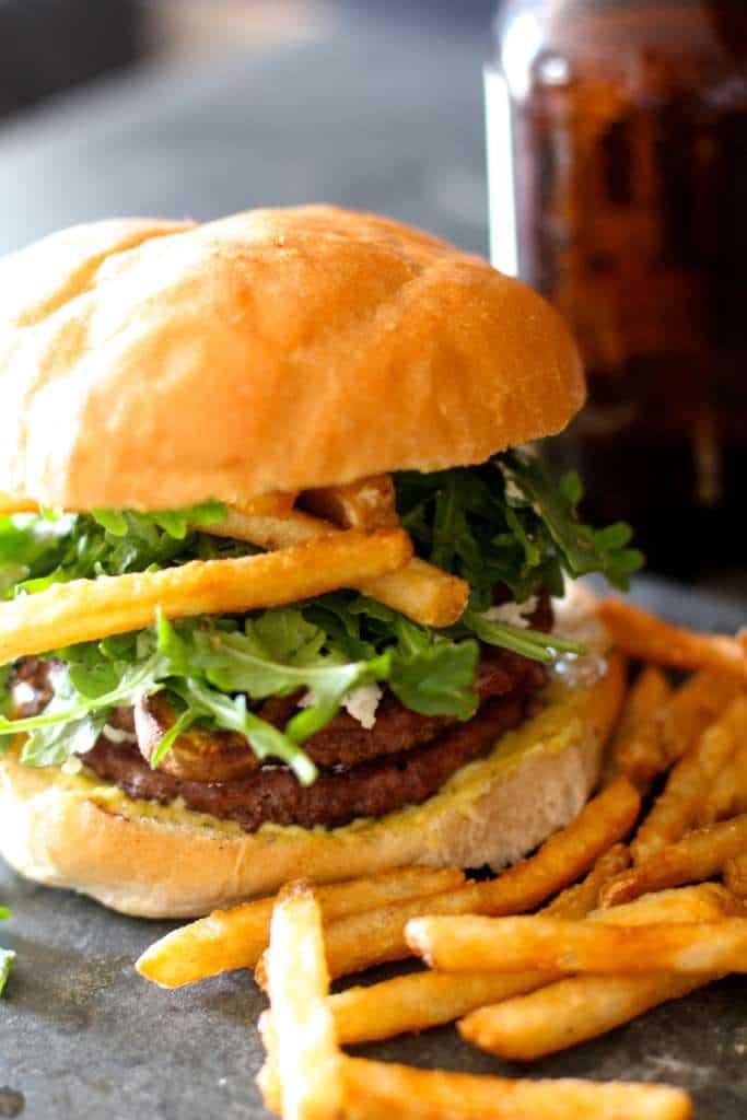 Gourmet French Hamburgers
