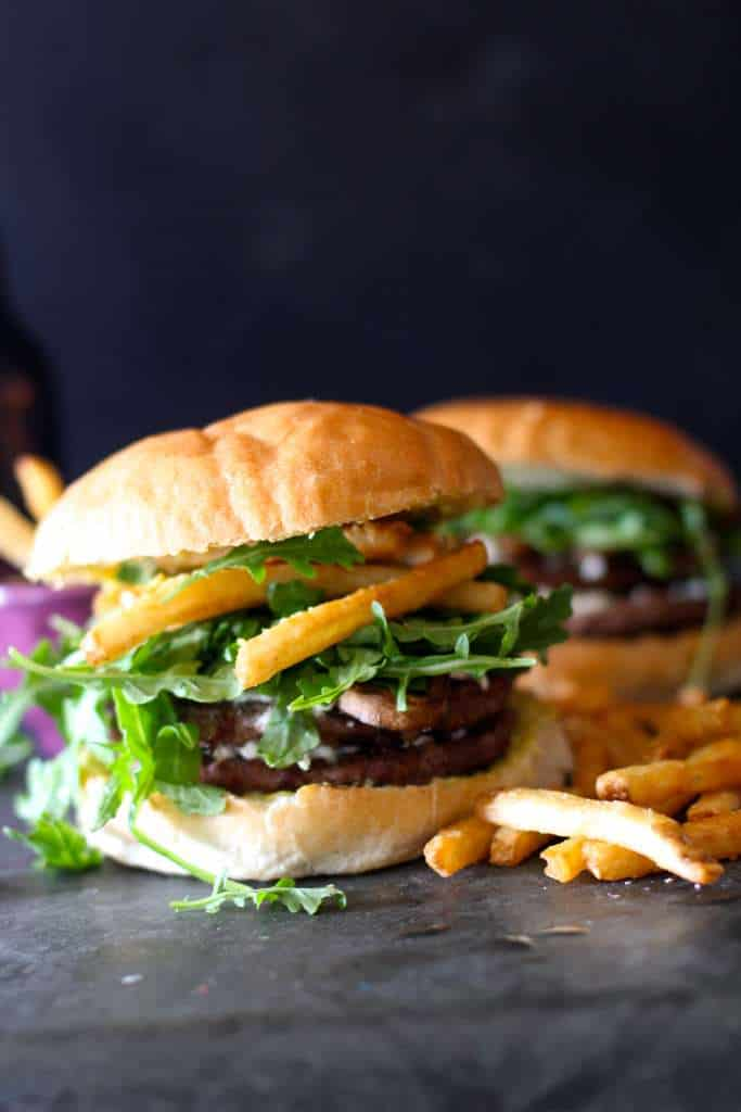 Gourmet French Burgers