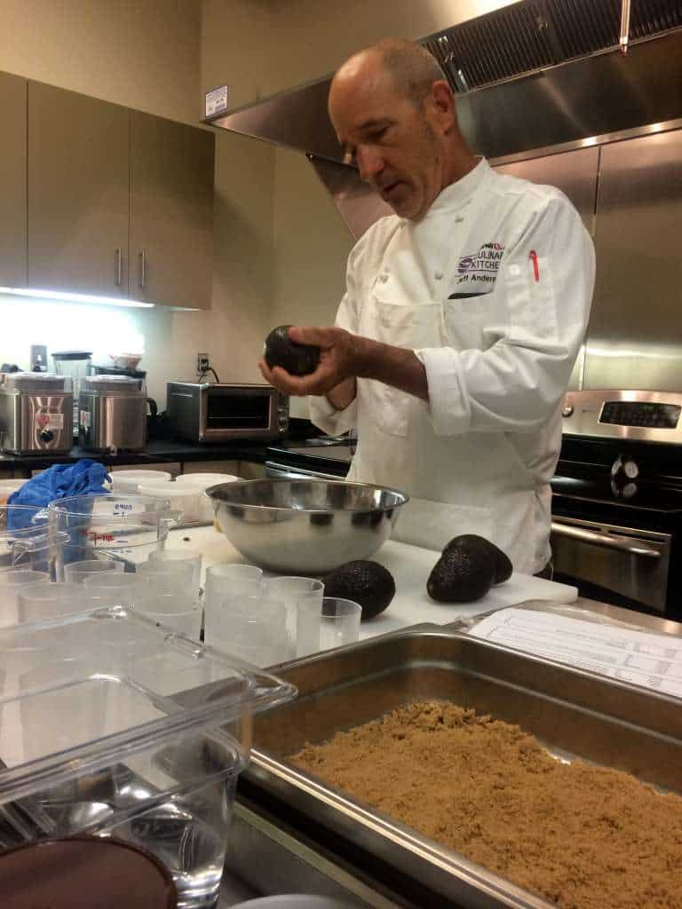 Chef Jeff at Safeway Culinary Kitchens
