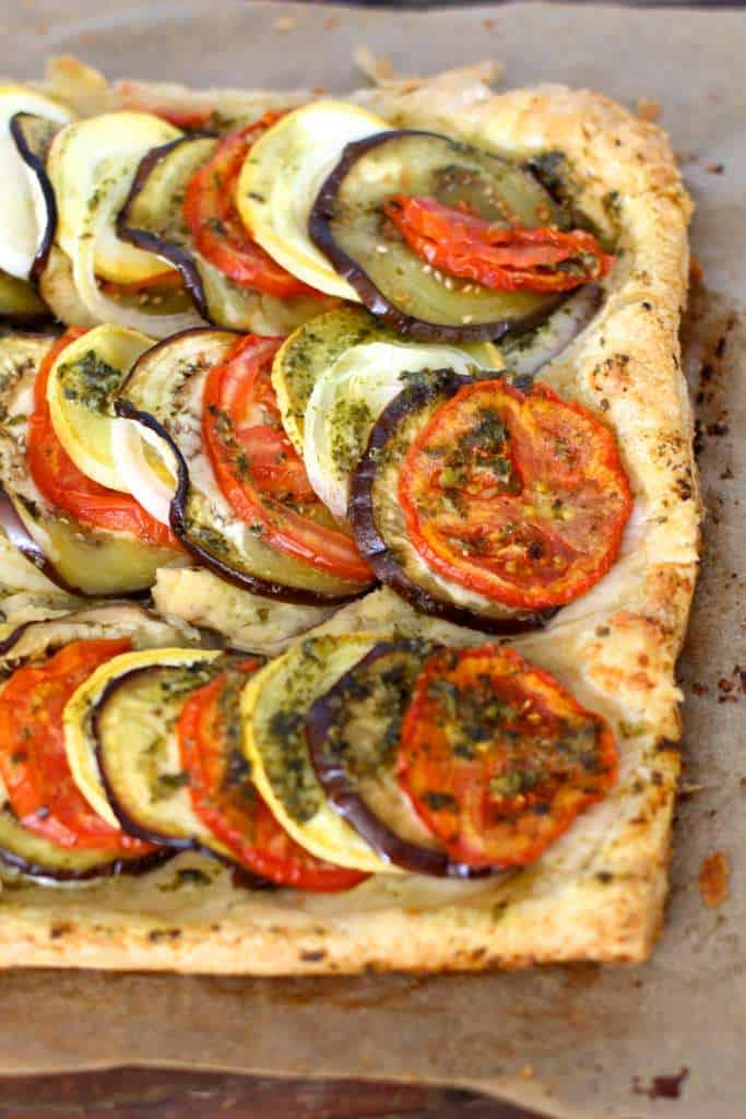 Ratatouille Tart