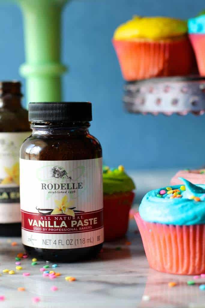 Vanilla Bean Paste Cupcakes