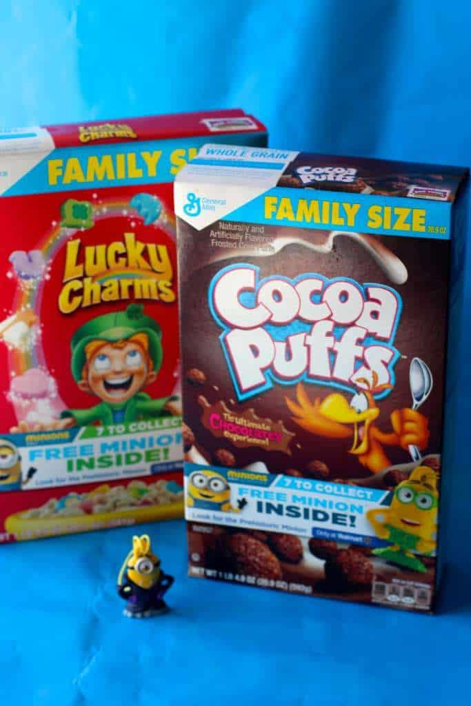 Cereal Box Minions