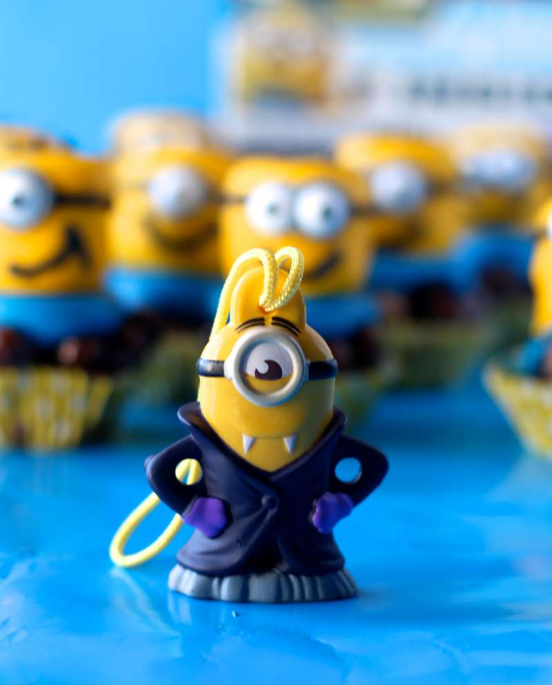 Minion Toy from Cereal Box