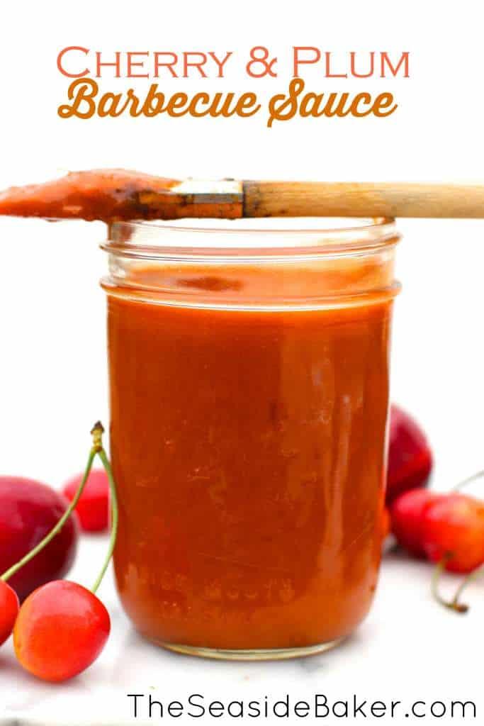 Cherry plum BBQ Sauce