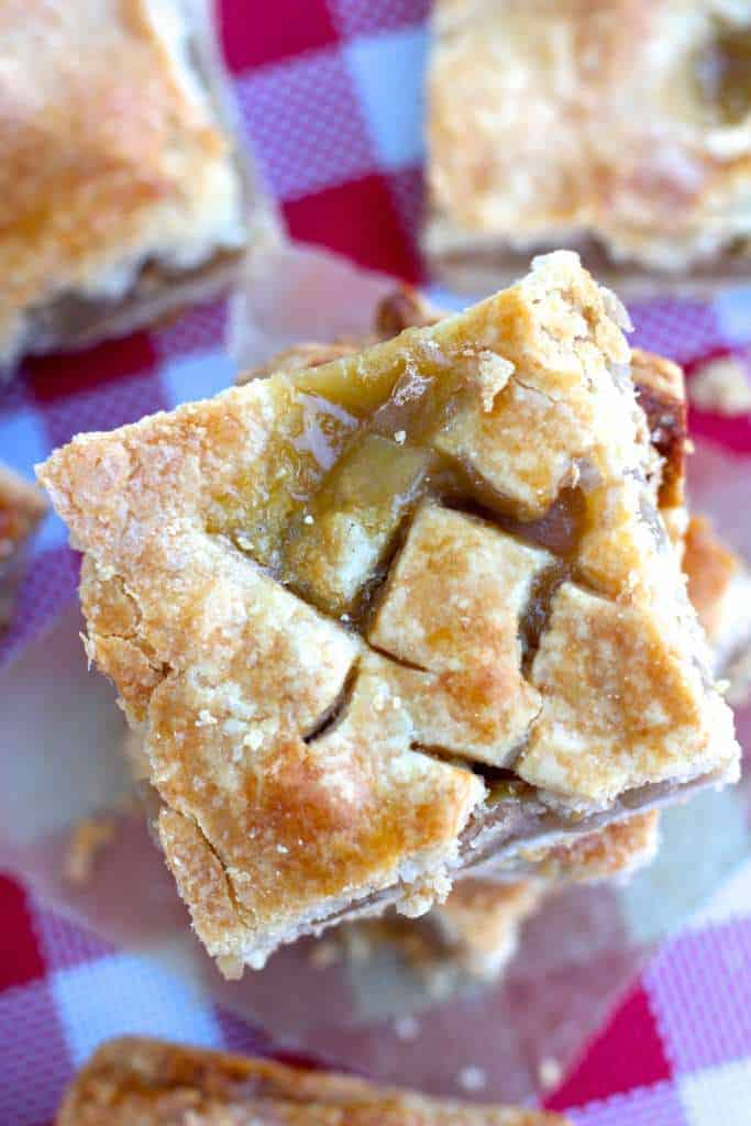 Perfect Apple Pie Bars
