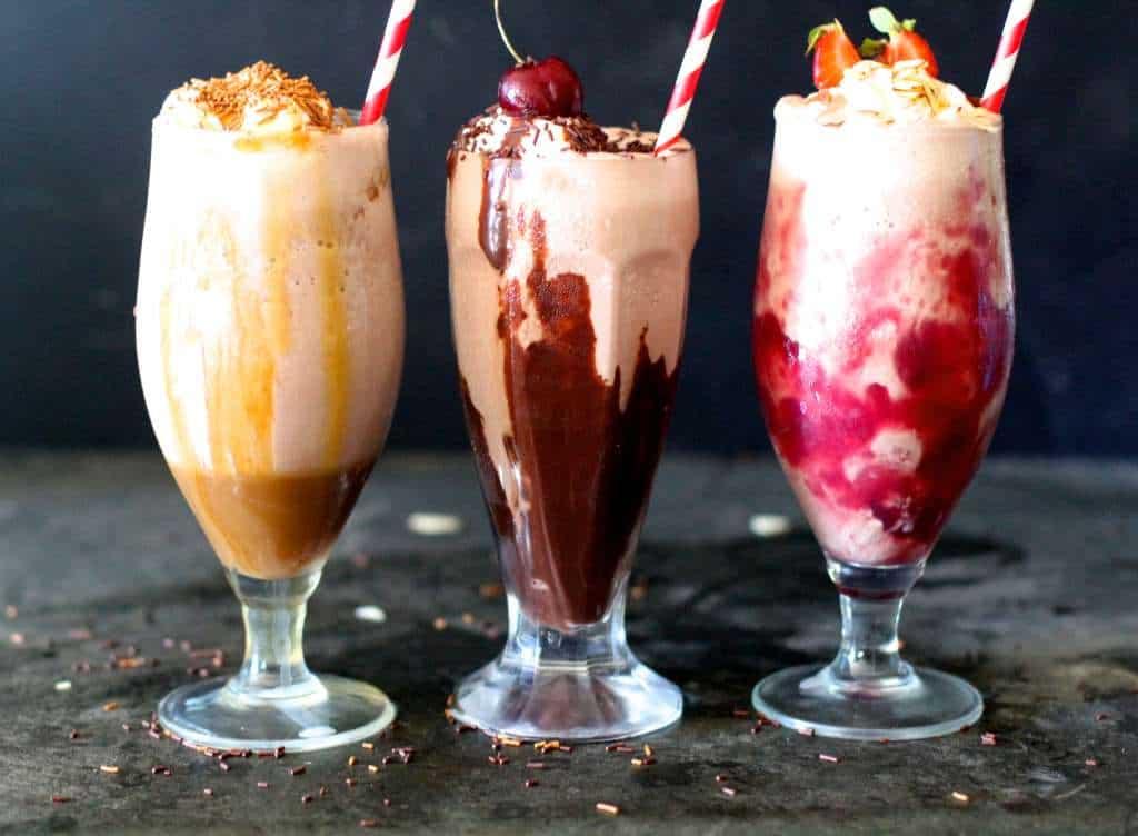 Fun Almondmilk Shakes to cool off this summer