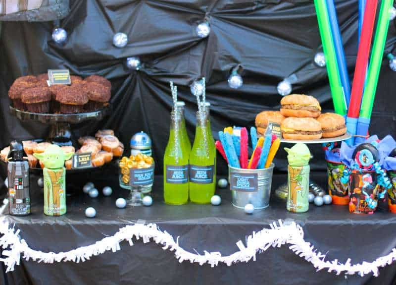 star wars party 2 - Star Wars Party Decorations