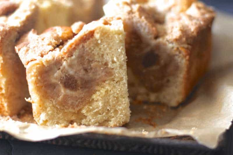 Topping overload Coffee Cake