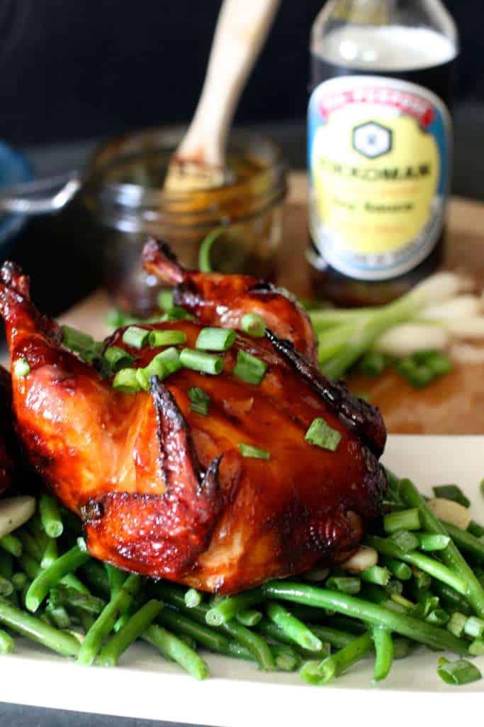 Teriyaki Grilled Hens
