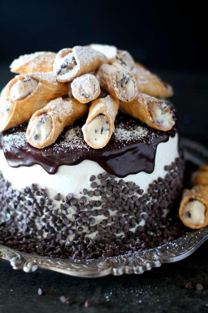 Italian Canoli Cake