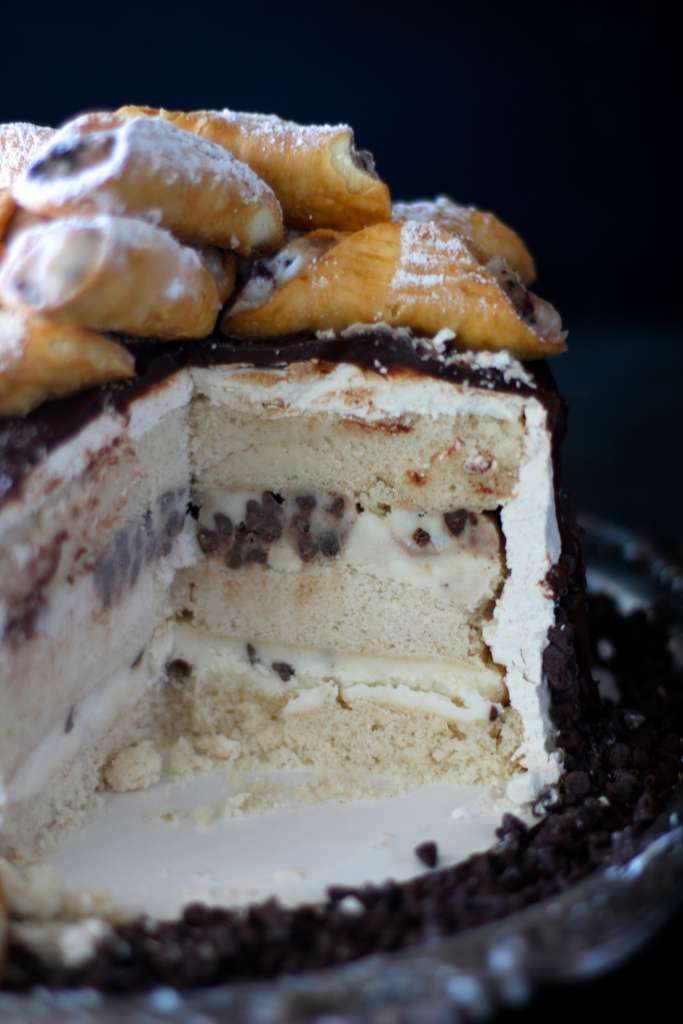Cannoli Cake The Seaside Baker