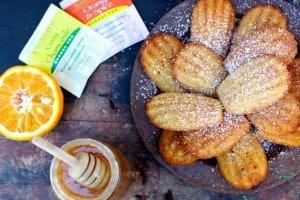 Orange Spiced Madeleines