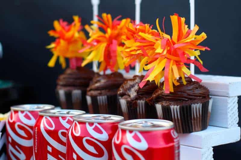 Pom Pom Cupcakes