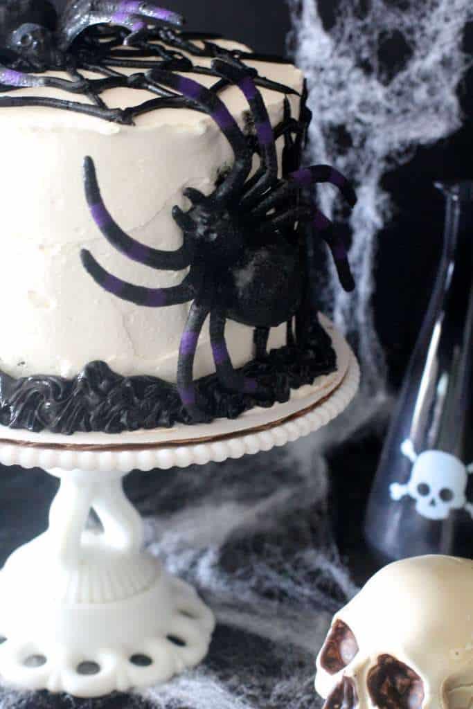 Spooky Chocolate Cake