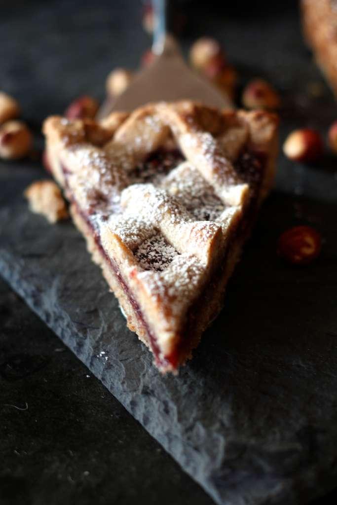 Linzer Torte Slice
