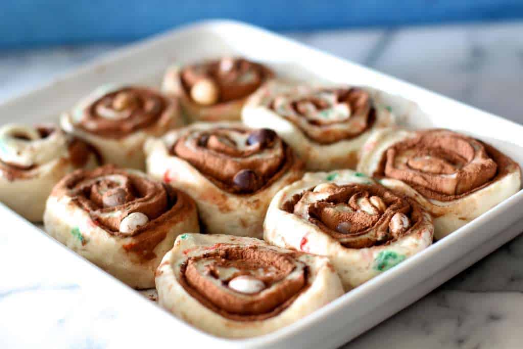 2nd rise Hot Chocolate Rolls