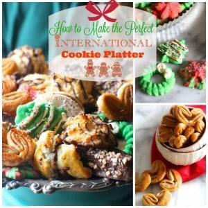 An International Christmas Cookie Platter